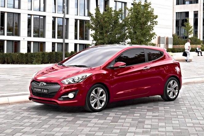 Toutes les nouveautés du Mondial 2012 - Hyundai i30 3 portes : basique