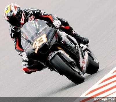 Moto GP - Grande Bretagne: Mélandri adore le climat anglais