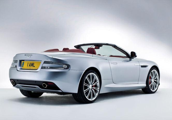 Voici la nouvelle Aston Martin DB9