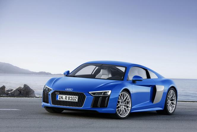 Salon de Genève 2015 - Audi officialise la R8