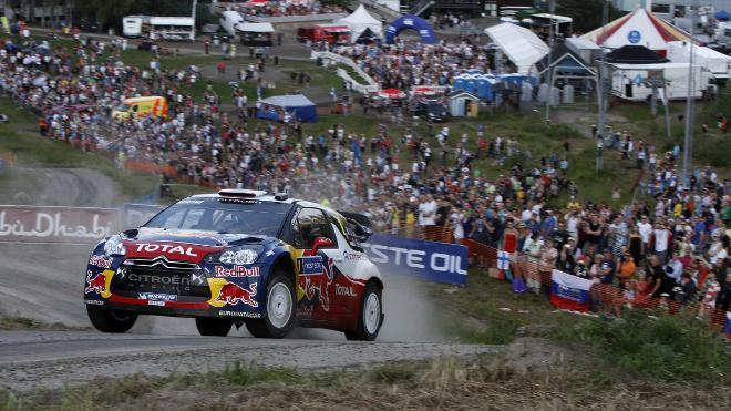 WRC Finlande : qui c'est le patron ? Loeb évidemment