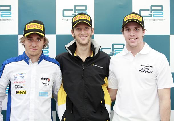 GP2 Budapest Course 1 : Grosjean en rajoute une couche