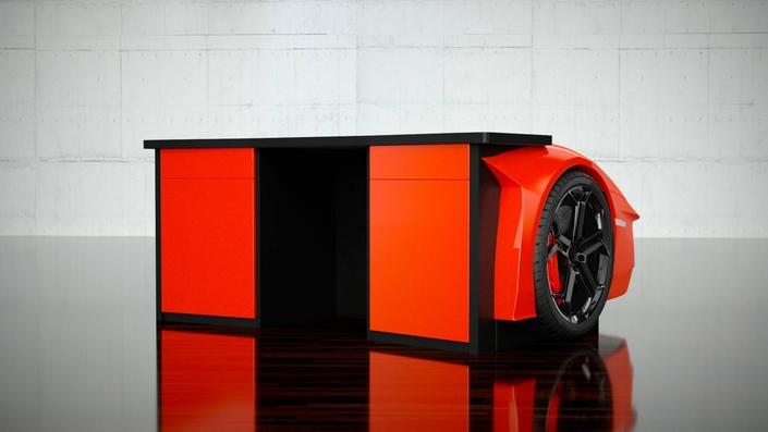 Offrez-vous un bureau Lamborghini Aventador