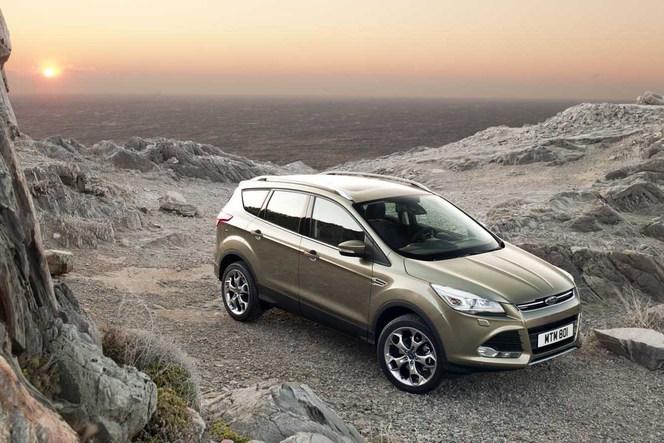 Toutes les nouveautés du Mondial 2012 - Ford Kuga : européenne