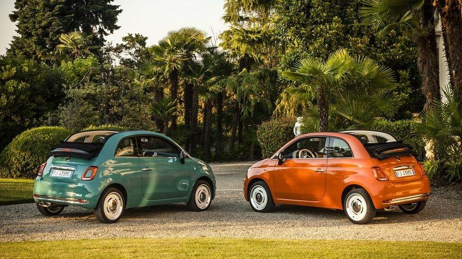 Fiat 500 Serie Speciale Anniversario Pour Les 60 Ans De La Citadine