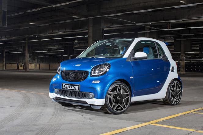 Salon de Genève 2015 - Carlsson CK10, une Smart ForTwo sobrement revue