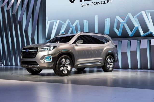 Salon de Los Angeles 2016 - Subaru Viziv-7, SUV familial en devenir
