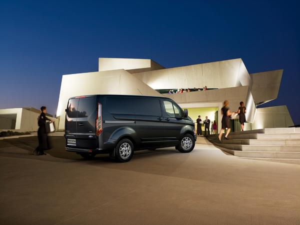 Le nouveau Ford Transit Custom élu Utilitaire International de l'Année