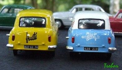 Miniature : 1/43ème - Simca Aronde Messagère