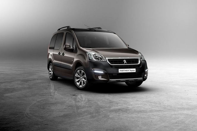 Nouveaux Peugeot Partner et Partner Tepee