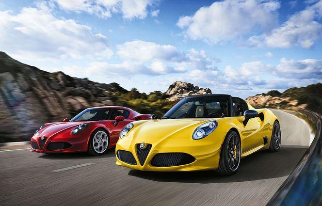 Alfa Romeo 4C Spider : 73 000€ tout de même