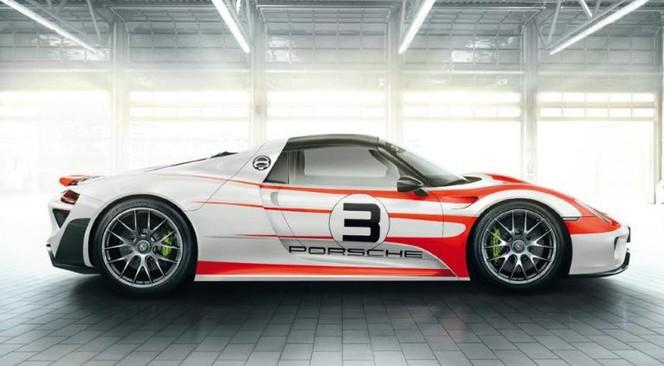 Porsche 918 Spyder: de nouveaux détails révélés et 7'14 sur le Nürburg'