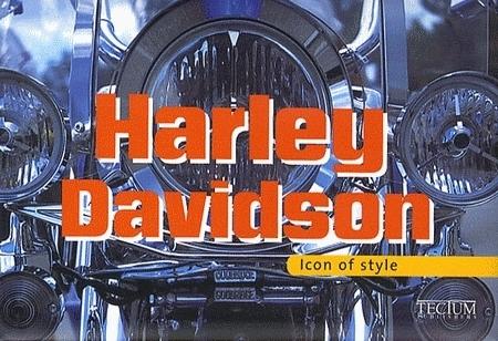 Idée cadeau - Livre : Harley Davidson - Edition bilingue Allemand/Français