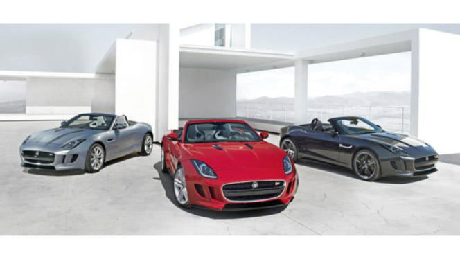 Mondial de Paris 2012 : La Jaguar F-Type surprise en famille