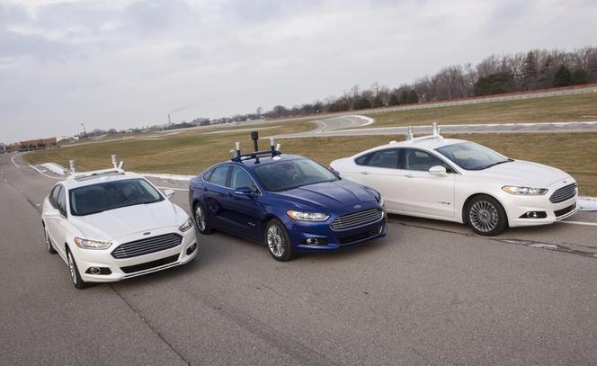 Ford se lance aussi dans la voiture autonome