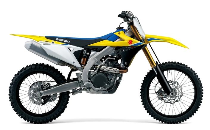 Suzuki: enfin une vraie nouvelle RM-Z450 pour 2018