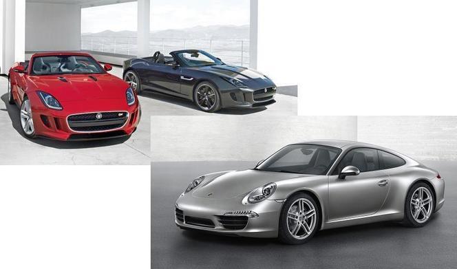 Match du Mondial : Jaguar F-Type ou Porsche 911 ?