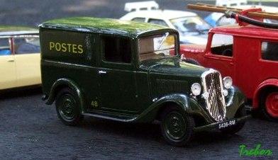 Miniature : 1/43ème - Citroën C4-8 Rosalie
