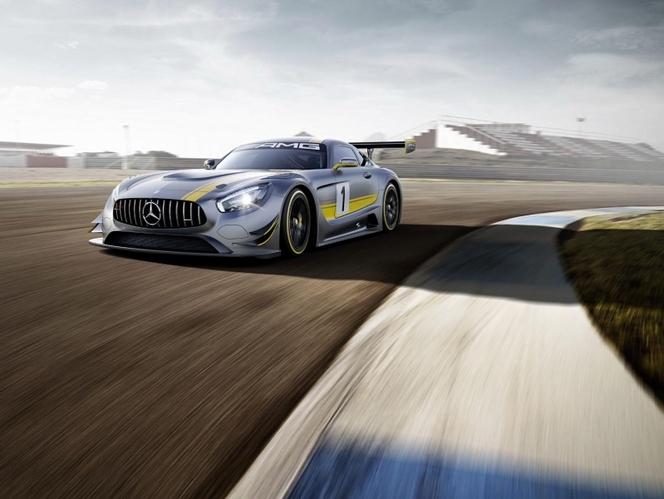 Mercedes-AMG GT GT3 : avec le V8 6.2 !