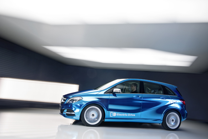 Mondial de Paris 2012 : Mercedes Classe B Electric Drive