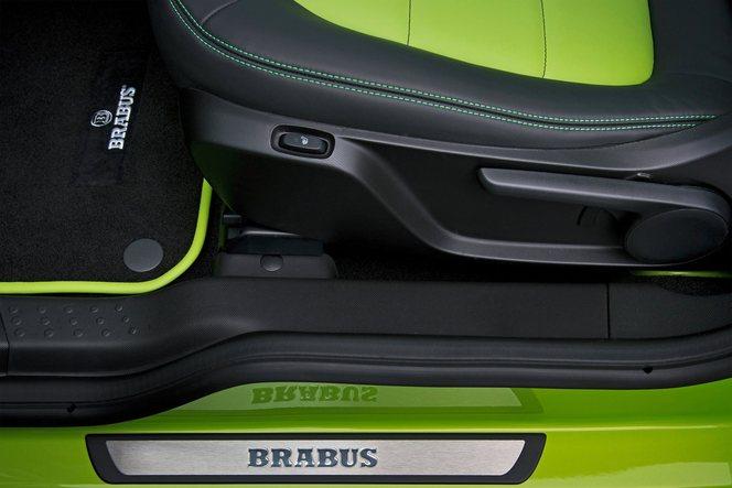 Salon de Genève 2015 - La Smart fortwo Brabus se montre déjà