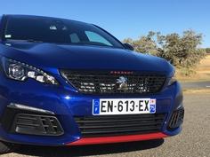 Peugeot 308 GTI restylée (2017) : les premières images de l'essai en live + impressions de conduite