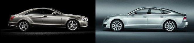 Match du Mondial : nouvelle Mercedes CLS ou Audi A7 Sportback ?