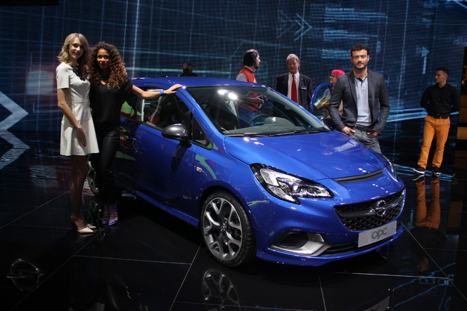 Opel Corsa OPC : même recette - Vidéo en direct du Salon de Genève 2015