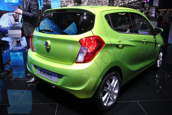 Opel Karl : mini Blitz - Vidéo en direct du Salon de Genève 2015