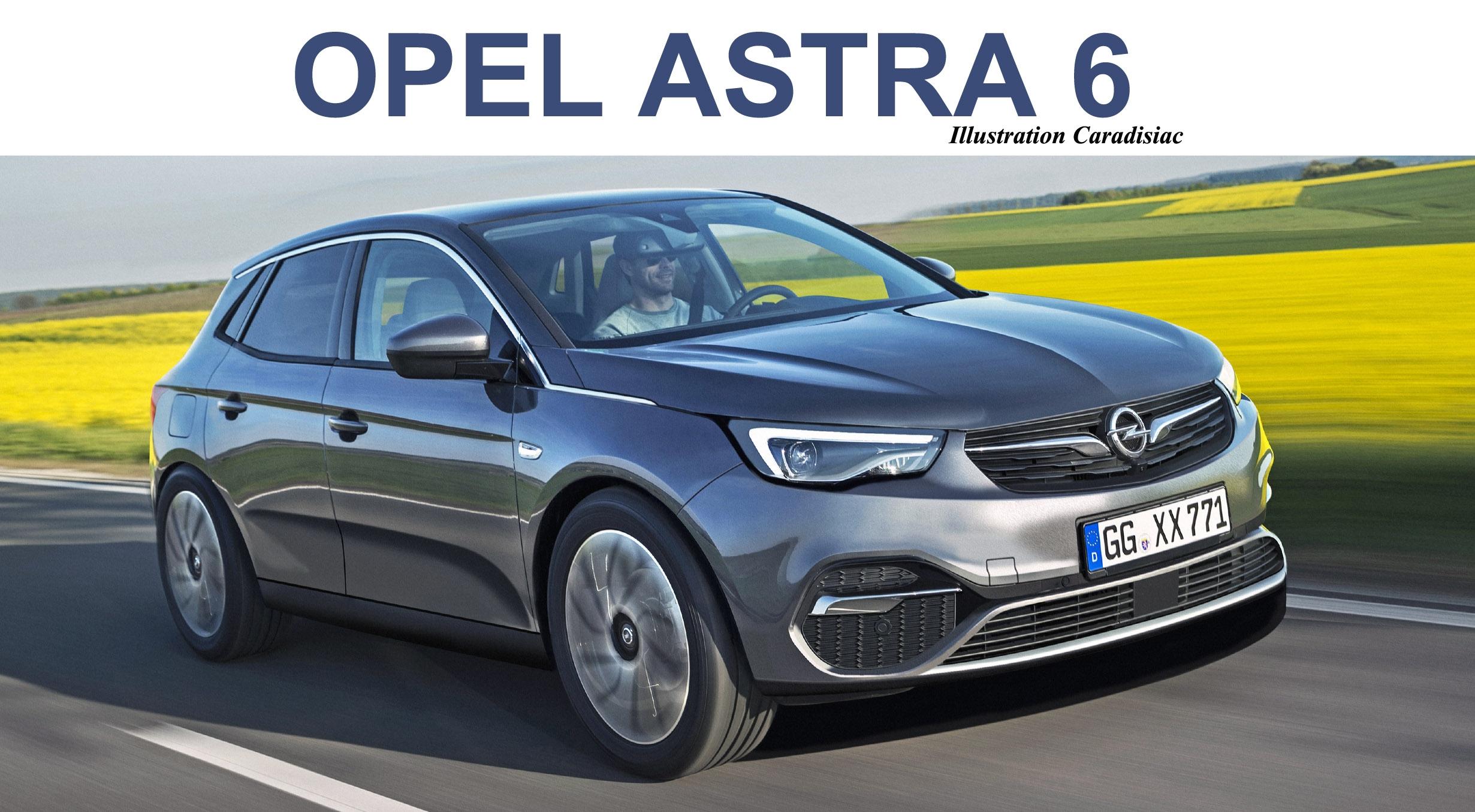 La Nouvelle Opel Astra Est Prevue Pour 2021