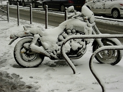 Photo du jour : Collection mode hiver