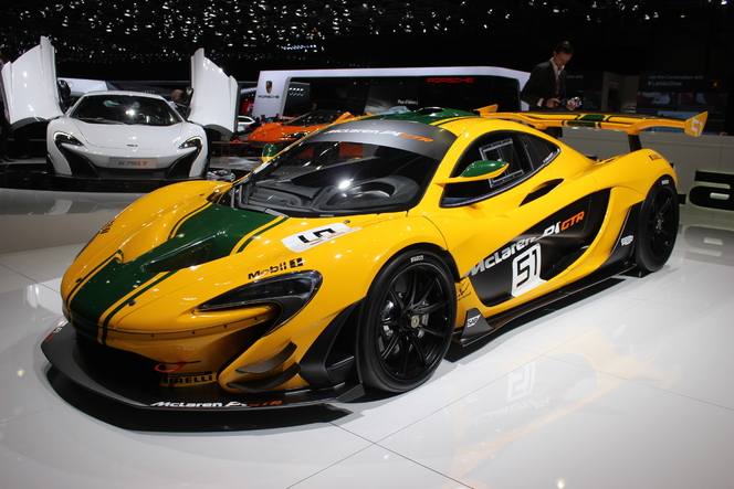 McLaren P1 GTR : l'ultime - En direct du Salon de Genève 2015