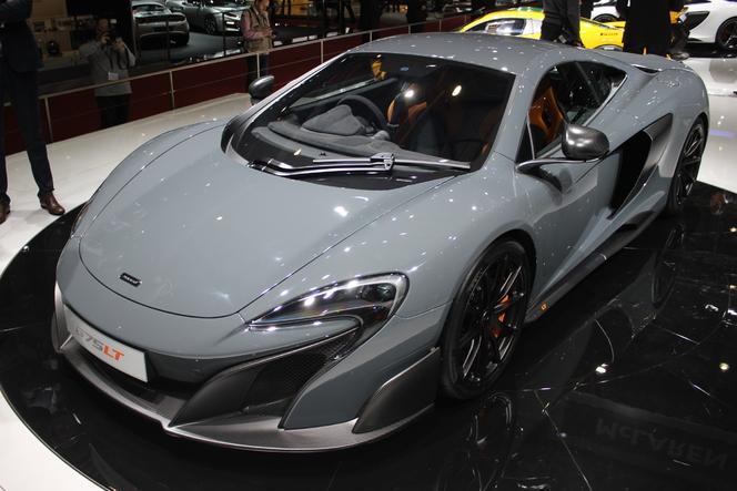 McLaren 675 LT : l'hommage - En direct du Salon de Genève 2015