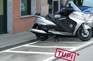 Garez votre moto partout grâce à Tucano Urbano!