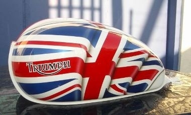 Triumph : du tuning très english