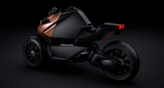 Mondial de Paris - Peugeot nous surprend avec l'Onyx à 3 roues!