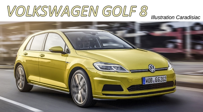la nouvelle volkswagen golf arrive en 2019. Black Bedroom Furniture Sets. Home Design Ideas