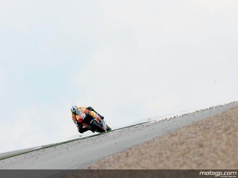 Moto GP - Grande Bretagne: Pedrosa a raté le coche