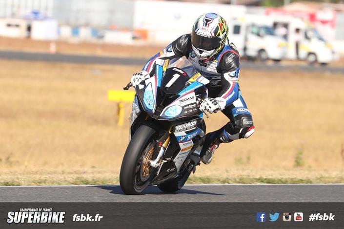 Championnat de France Superbike: Guarnoni s'impose en 2018
