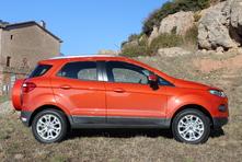 Ford Ecosport : en avant-première, les photos de l'essai
