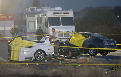 Effroyable accident de voiture en Arizona ! [vidéo]