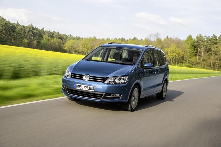 Volkswagen met fin au Sharan