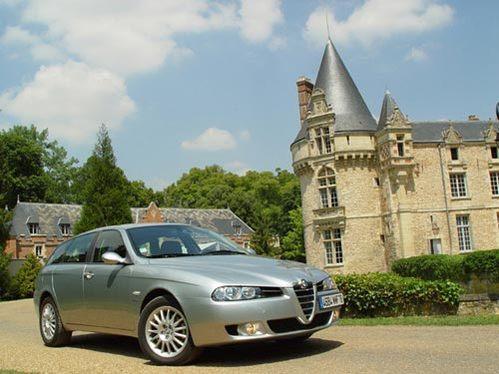 Essai - Alfa Romeo 156 2.4 JTD Multijet : superbe diesel