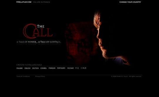 Cinéma d'autos : The Call avec Pirelli et TVR Sagaris