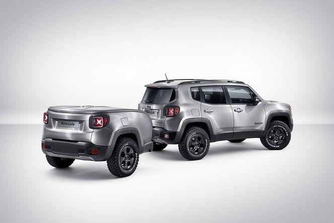 Salon de Genève 2015 - Jeep présente le show car Renegade Hard Steel