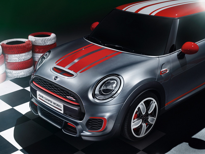 d troit 2014 mini john cooper works concept. Black Bedroom Furniture Sets. Home Design Ideas