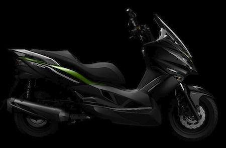 Nouveauté 2014, Kawasaki J300: disponible dès la fin d'année