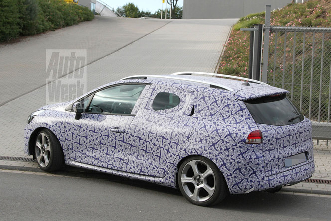 Surprise : une Renault Clio IV Estate sportive