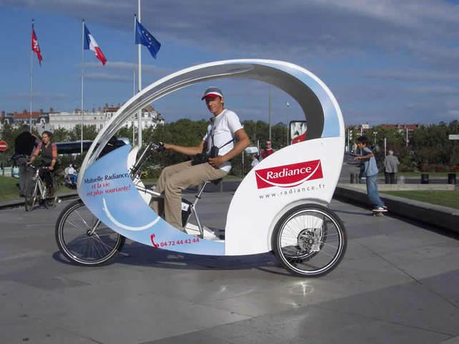 Cyclopolitain : la première compagnie de tricycletaxis électriques nouvelle génération en France