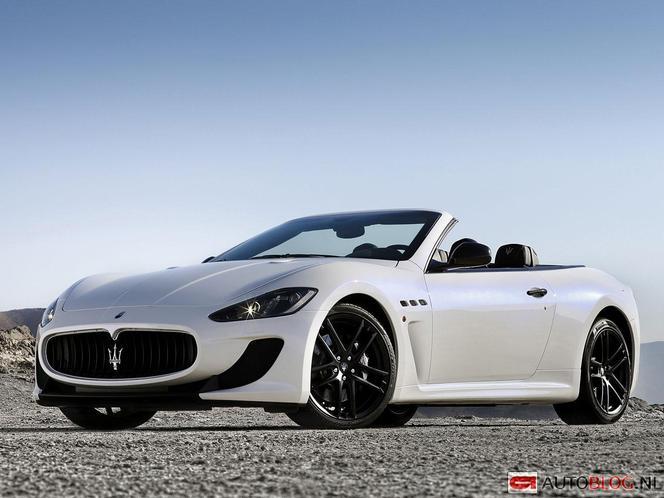 Mondial de Paris 2012 - Voici la Maserati GranCabrio MC Stradale